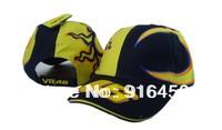 Drop Shipping 2014 new Snapback 46 Baseball cap F1 Car Motorcycle racing embroidery cotton sports hat cap