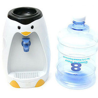 2014 Special Offer New Arrival Cartoon 101 Bebida Bebidas Mini Water Dispenser 8 Cup Penguin Water Dispenser Mini