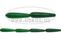 Free shipping!!!Jade Beads,Brand, Jade Malaysia, Teardrop, 35x9mm, Hole:Approx 1.5mm, Length:15 Inch, 11PCs/Strand