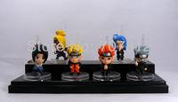 Mini Naruto  Action Figures Cute PVC 6PCS/Set 5Cm High Quality Free Shipping