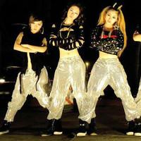 Ds costume dance jazz paillette hiphop hip-hop trousers modern dance style