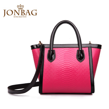 2013 autumn women's handbag serpentine pattern handbag bag the trend of fashion color block brief shoulder bag 111