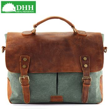 Dhh canvas bag big bags fashion 2013 women's bag fashion vintage handbag messenger bag 111