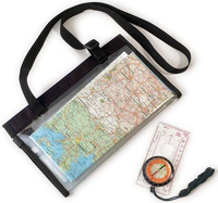 Hiking sports - map holder compass
