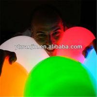2013 Hot sale ,led balloon, flashing balloon, lighting balloon with led light(25cm)