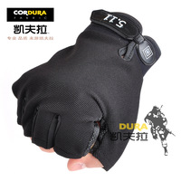Free shipping Tactical semi-finger 511 slip-resistant gloves swat perspicuousness gloves thin