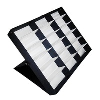 18 sunglasses display box vertical glasses box glasses black lid storage box
