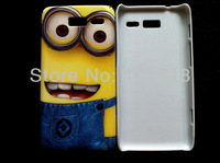 Free shipping &10pcslot New Cartoon  hard Case Cover  For  Motorola Rarz i XT890