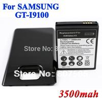 3500mAh Extended Battery + back Cover For Samsung Galaxy S2 S II i9100 GT-I9100 Batterie Bateria Batterij AKKU High Capacity