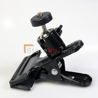 100% New studio light stand Flash holder studio light stand Clip Clamp Holder Mount for Studio Backdrop Camera  free shipping