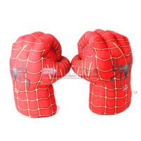 "1 Pair The Incredible Hulk Spiderman Smash Gloves 11"" Superhero Figure Plush toy gloves Christmas Gifts for kids Xmas Santa Toys"