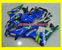 Injection Mold For 2007 2008 HONDA CBR600RR CBR 600RR F5 CBR600 RR 07 08 Movistar blue Fairing kit