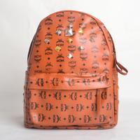 KPOP EXO Rivet  PU Lovers Backpack School Bag
