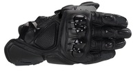 hot sale  AA motorcycle Gloves leather motor gloves black racing gloves