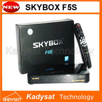 20pcs/lot Original Skybox F5S Full HD satellite receiver with VFD display support usb wifi Cccam Newcam MGcam free shipping