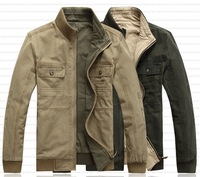 Free shipping,2013 new fashion spring Men's regular  double side jacket/coat,M-3XL ,two colors 215