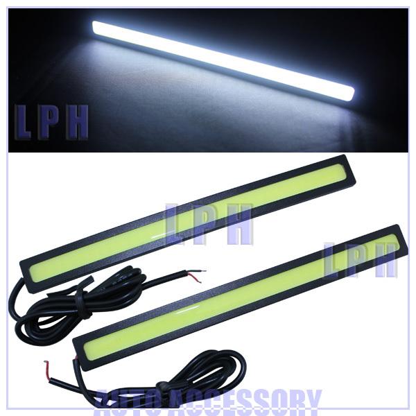 Ultra-thin 9W COB Chip COB DRL New update 84 LED Daytime Running Light 100% Waterproof Fog car lights(China (Mainland))