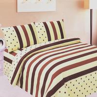 100% cotton sheets quilt pillow case piece bedding set 1.51 . 8 2 meters double bubble