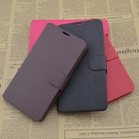Free Shipping (5pcs/lot) Top Quality Series leather case for Lenovo S750 cell phone Classic design