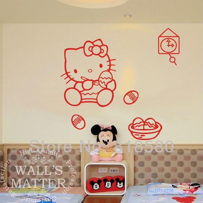 Hello Kitty Home Decor: Free Shipping Home Decor Lovely Hello Kitty Easter Eggs