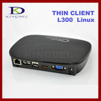 NEW PC station Linux mini thin client L300 with ARM-A9 Dual Core 1GHz, 512MB RAM and Flash, Linux 2.6, WIFI ,1080P HDMI, VGA
