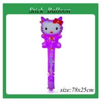 Hot sales!!! 100pcs/lot wholesales princess Cheering stick , inflatable toys , 78cm length , Party balloon