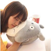 Rice totoro hand pillow cartoon lunch pillow nap pillow cushion pillow hand warmer