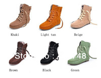 2013 HOT SELL! female spring boots and autumn fashion marten boots flat vintage buckle motorcycle boots, 9 colors! FREE SHIPPING