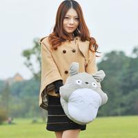 Totoro hand pillow cartoon lunch pillow plush toy sierran hand warmer cushion pillow