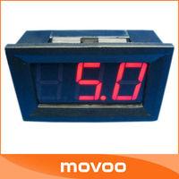 """Digital DC Voltmeter DC Electronic Meter 0.56"""" DC 0V~99V Red LED Voltmeter Car Voltage Meter Mini Voltage Meter Monitor"""