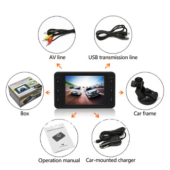 2013 best seller portable  Car camera F980 with Super Night Vision 140 Degree Wide Angle & motion detection