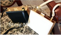 day clutch evening banquet bag one shoulder small women's bag box designer clutch bags for  women 2014