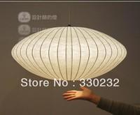 30cm George Nelson Bubble Saucer pendant light Flat trumpet lanterns paragraph Lamp+free shipping PL209