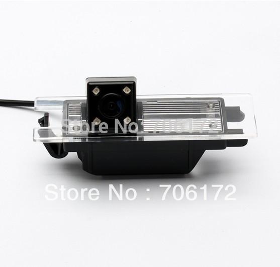 Nightvision 4 LED SONY CCD Chip Car Rear View Reverse CAMERA for OPEL Astra H/Corsa D/Meriva A/Vectra C/Zafira B,FIAT Grande(China (Mainland))