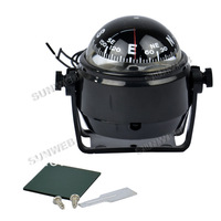 New Sea Marine Electronic Digital Compass Boat Caravan Truck 12V LED Light Black TK0166