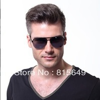 Free shipping!Hot-selling High Quality Fashion Big Box Anti-uv Men's Sunglasses CSLDISHY-026