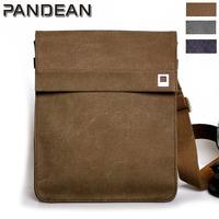 Free shipping / factory direct / Cavas bag / men's shoulder bag / canvas bag / laptop bag  pandean mvs2218b