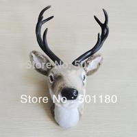 free shipping wall hanging animal head wall decor deer head for wall decoration