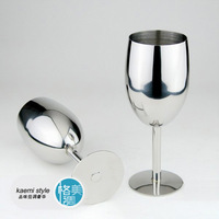 Stainless steel wine cup hanap wine cup stainless steel wine glass two cups