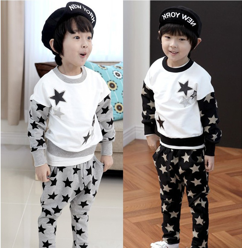 Boys Designer Clothes Brand boy set baby boys fashion
