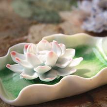 Jingdezhen керамические ручной работы украшения дома аксессуары поставок будды с уникальным внутрипросветный