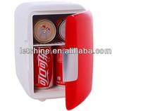 12V Portable Car Cooler Warmer Travel Fridge 4Liter New Small Personal Coke AUTO Refrigerator Dorm Apartment