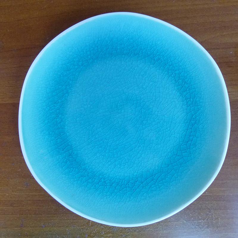 Online kopen wholesale blauw aardewerk borden uit china blauw aardewerk borden groothandel - Decoratie schotel ...