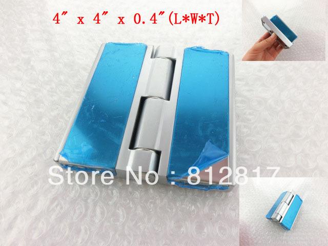 10cmx10cm Silver Tone Stainless Steel Cabinet Window Door Hinge(China (Mainland))