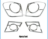 free shipping Chevrolet Cruze ABS chromed headlight cover headlamp cover 2pcs car accessories for cruze   m2