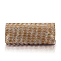 Honorable three-dimensional full rhinestone commercial  rhinestone women's handbag  bag hard case  bag  evening bag clutch
