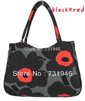 free shipping 2014 fashion bag  Papaver bag  Marimekko Handbag  canvas bag  whloesale