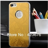 3D Pattern Hard Aluminum Case For iPhone 5 Luxury Metal Cover For iPhone 5g