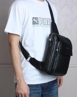 Men sling messenger shoulder bag genuine leather sport backpack,fashion men's bag,quality guarantee Free Shipping TIDING 30981