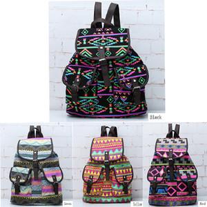 New Vintage Floral Ladies Canvas Bag School Bag Backpack(China (Mainland))